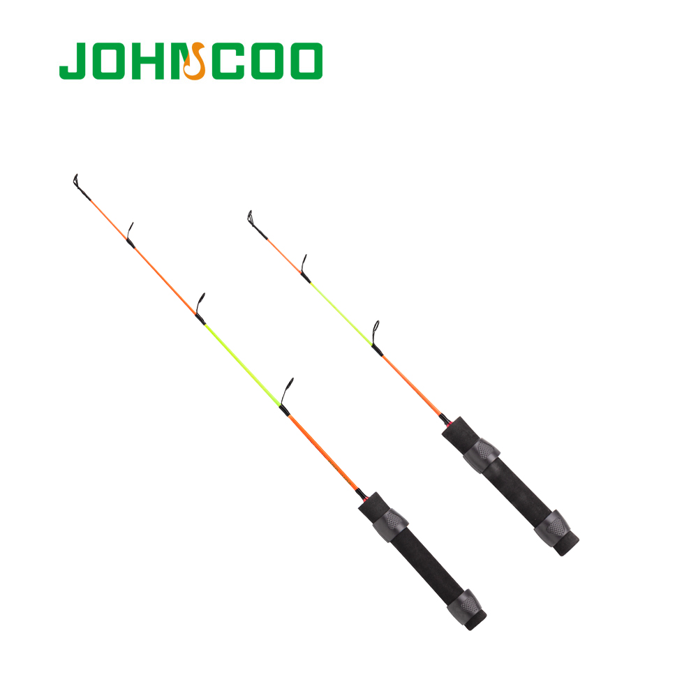 Obedient Ice Fishing Rod Spinning Rod 41cm/56cm Solid Body Winter Fishing Rod No-broke Rings Lightweight Carbon Fiber Classic Rod 2019 New Fashion Style Online Fishing Rods