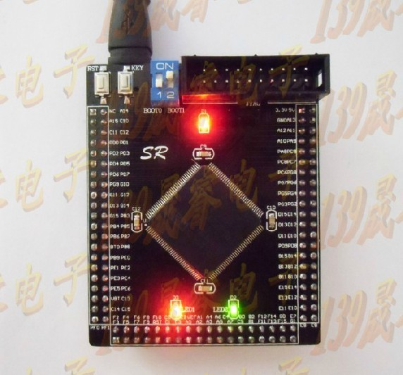 STM32F103ZET6 minimum system board dev board Cortex-m3/ARM 7 кпб cl 219