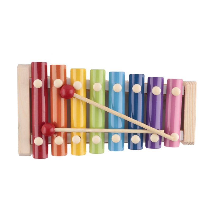 Dulce Templado 8 Tonos Xylophone Juguetes Musicales Niños Aprendizaje Temprano Juguete De Madera Sabiduría Desarrollo Instrumento Musical Juguetes Montessori FijacióN De Precios SegúN La Calidad De Los Productos.