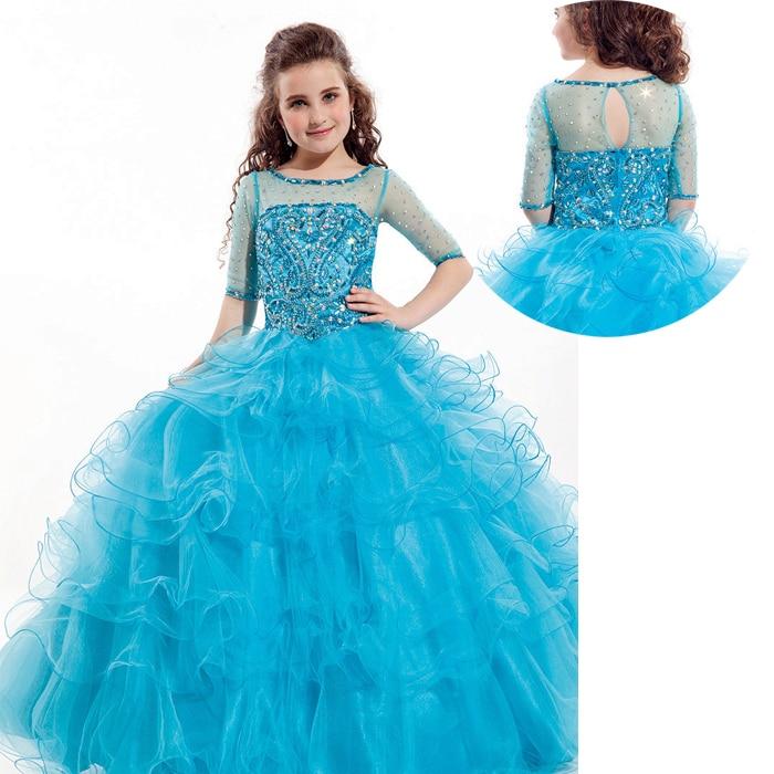 Online Get Cheap Beauty Pageant Dresses for Juniors -Aliexpress ...
