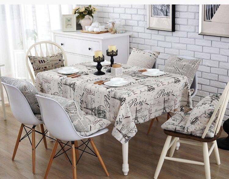 Tavolo Da Pranzo In Francese : Semplicità tessuto francese timbro postale rettangolo di lino