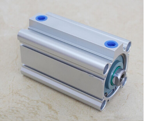 Bore size 50mm*75mm stroke SMC compact CQ2B Series Compact Aluminum Alloy Pneumatic Cylinder acq100 75 b type airtac type aluminum alloy thin cylinder all new acq100 75 b series 100mm bore 75mm stroke