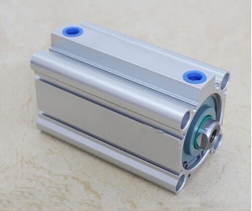 Bore size 50mm*75mm stroke compact CQ2B Series Compact Aluminum Alloy Pneumatic Cylinder cq2b series cq2b50 10 bore 50mm x 10mm stroke smc compact compact aluminum alloy pneumatic cylinder