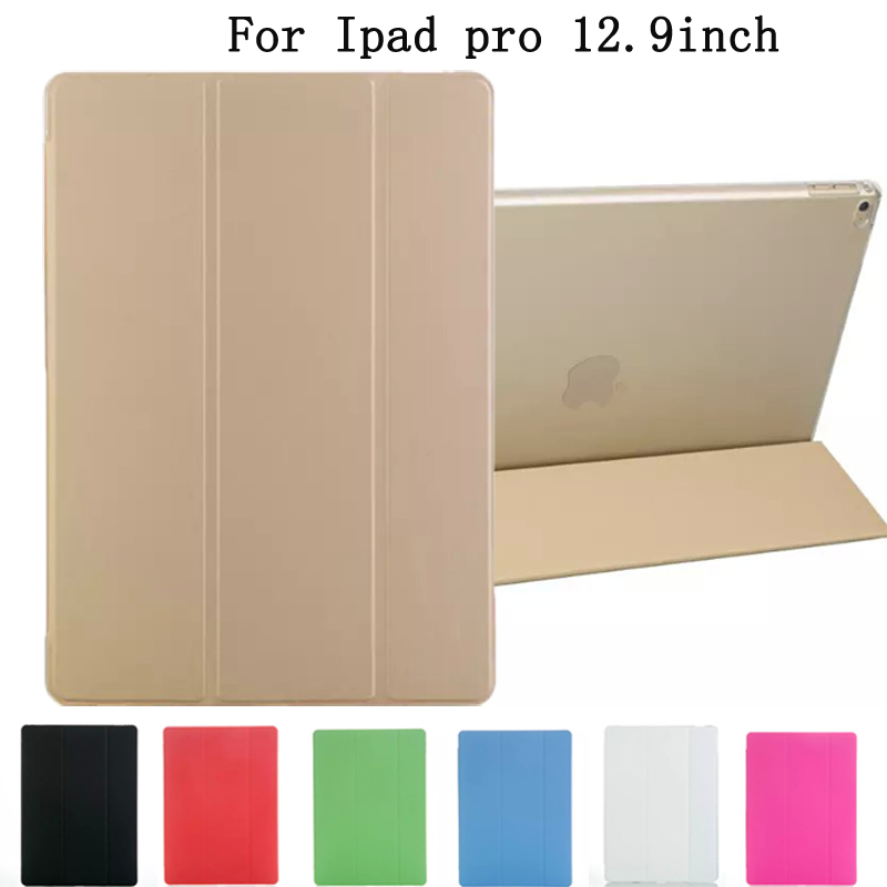 Luxury Tablet PC CaseFor iPad pro 12.9inch Case Cover Ultra Thin Magnetic Smart Case Cover for ipad pro 12.9 inch A1584,A1652