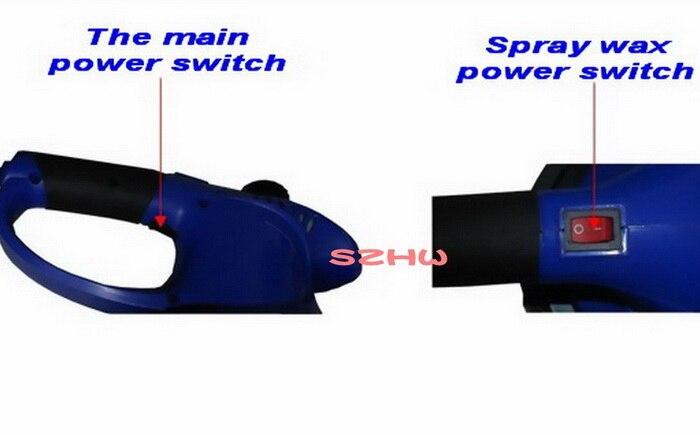 """HKnoble DC12V Смарт восковый аэрозоль полировочным воском, """" автомобиль электрический полировщик, прибор для восковой депиляции, губчатый полировщик, полировальная машинка для автомобилей с эксцентриковым"""