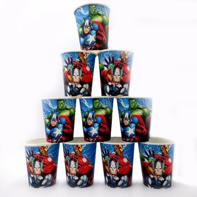 10 шт./партия, набор для тематической вечеринки, Рождественский фестиваль для детей, девочек, мальчиков, синий