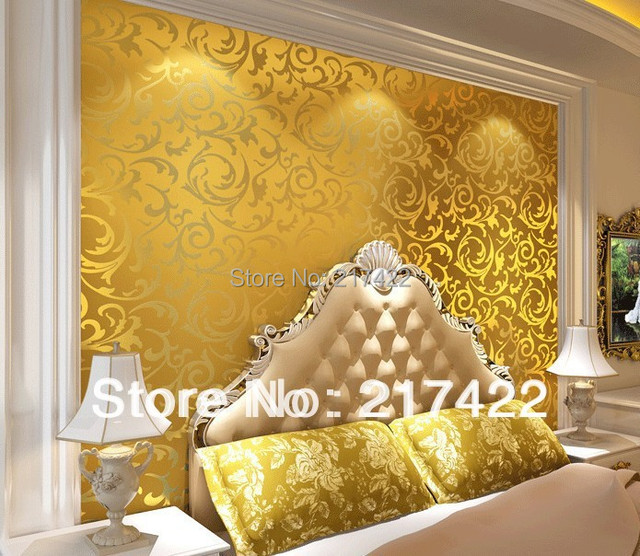European Style Wallpapers 10M Rolls Wall Covering Suitable for Bedroom Living Room