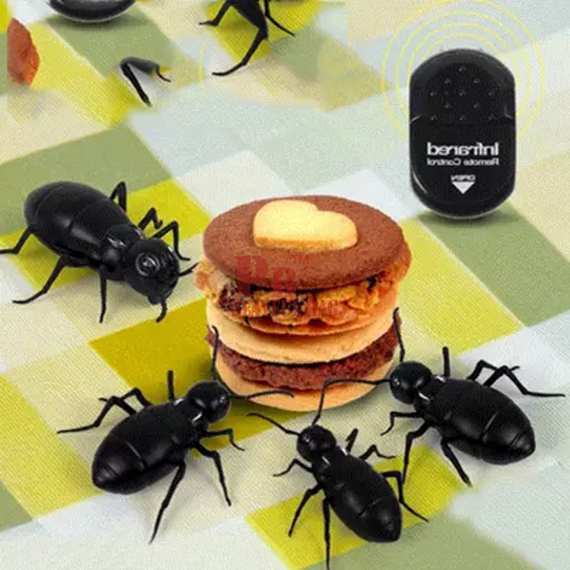 Pb Playful Bag Funny Simulation Infrared Rc Remote Control Scary Creepy Insect The Scorpion Toys Halloween Gift For Children Electronic Toys