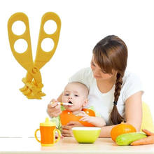 Baby Food Cutting Crushing Grinder Multifunction Food Shear Scissors Crush(China)