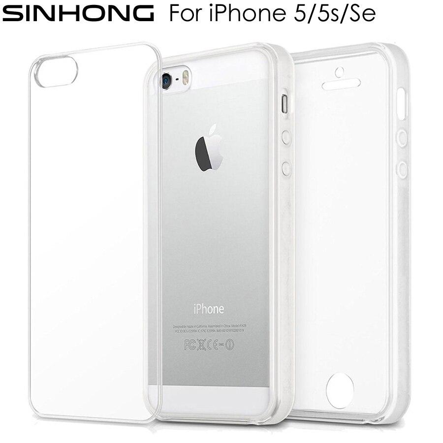 Soft TPU Clear Case iPhone 5S Case