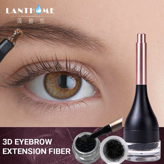3d Eyebrow Dye Fiber Extension Gel Instant Eye Brow Enhancer Eyebrow