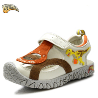 2017 Boys Sandals Boys Summer Sneakers Kids Shoes Infantil Boys Beach Sandals 3D Dinosaur Sandals Factional
