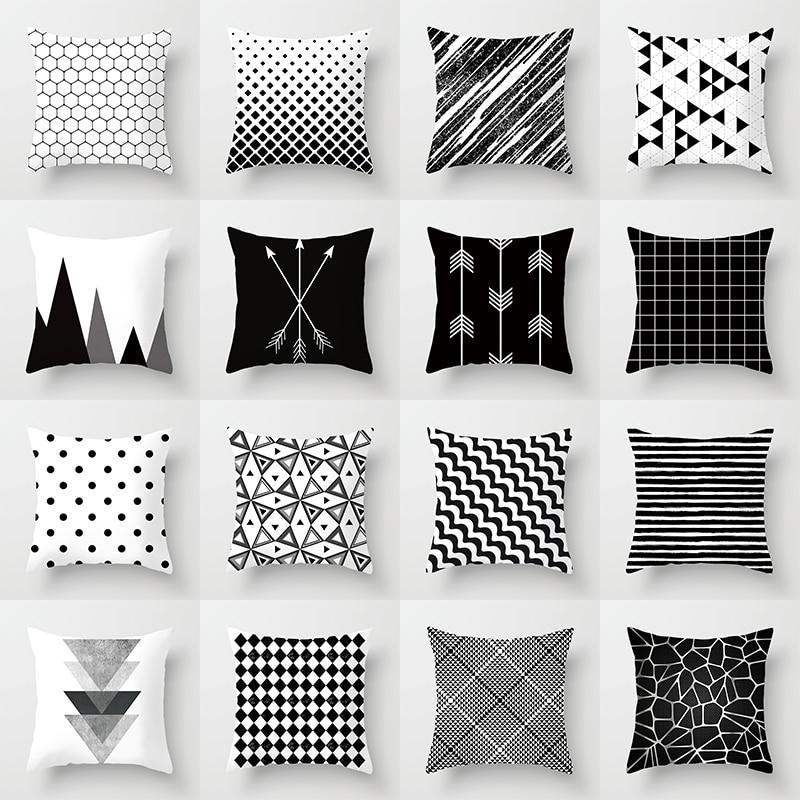Новый европейский геометрический абстрактный наволочка 45*45 см с цветным цифровым принтом чехол для подушки r украшение дома автомобиль Спа...