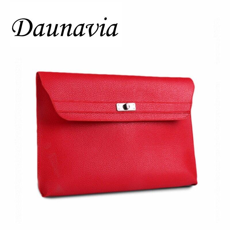 DAUNAVIA bag women messenger bags designer clutch purse famous women bag lady envelope clutches with strap средство для удаления накипи topperr 3015