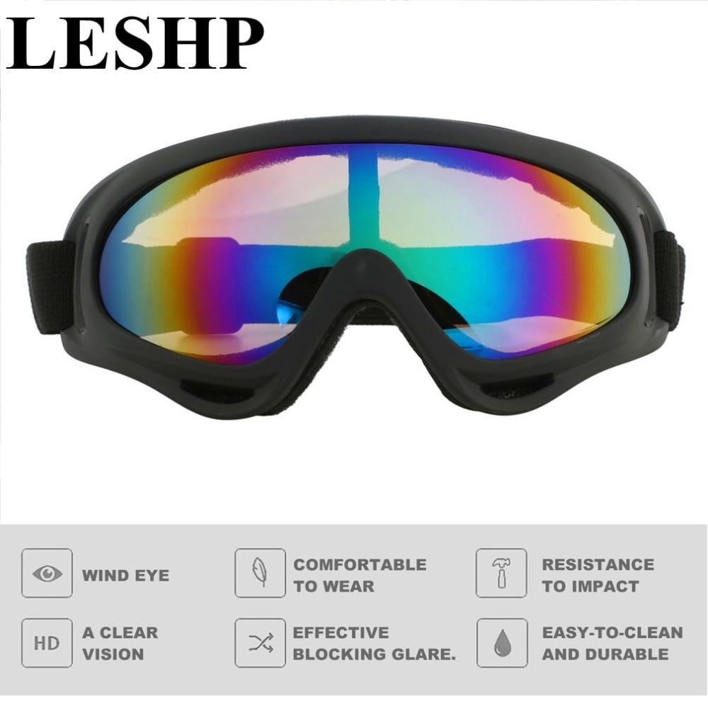 UV 400 защитные очки на открытом воздухе Велоспорт защитные очки Гибкие ветрозащитный спортивный Лыжный Очки туман-доказательство Лыжный Спо...