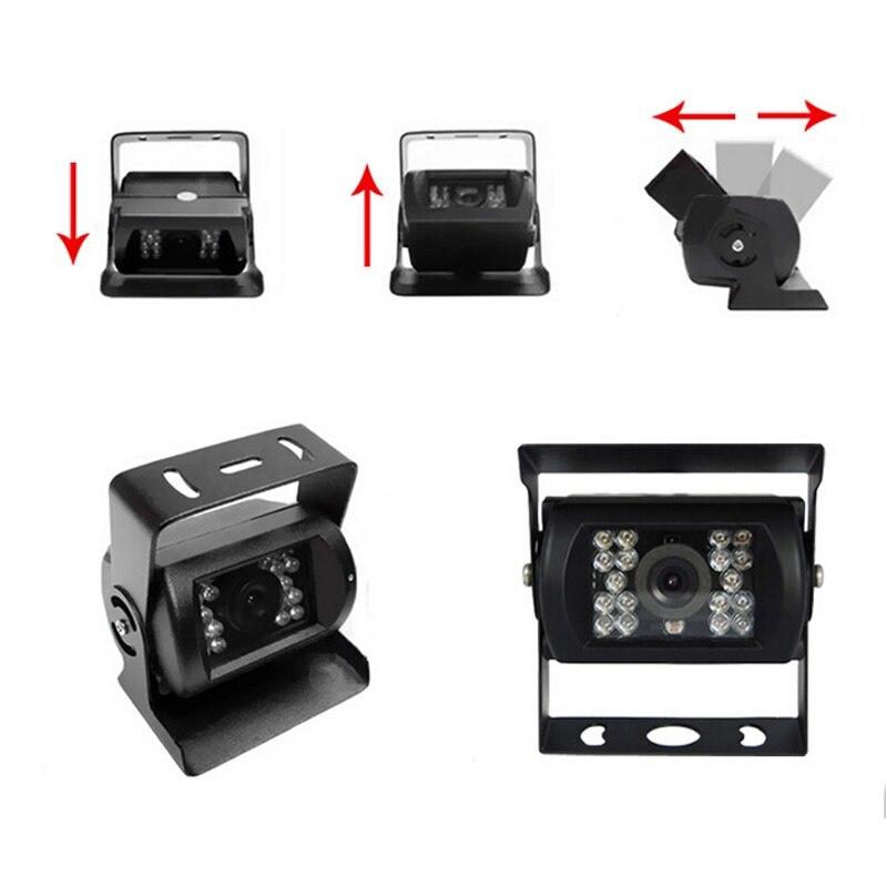 12V 24V CCD Car Camera For Truck Van Trailer Buses Night Vision HD CCD Waterproof Car