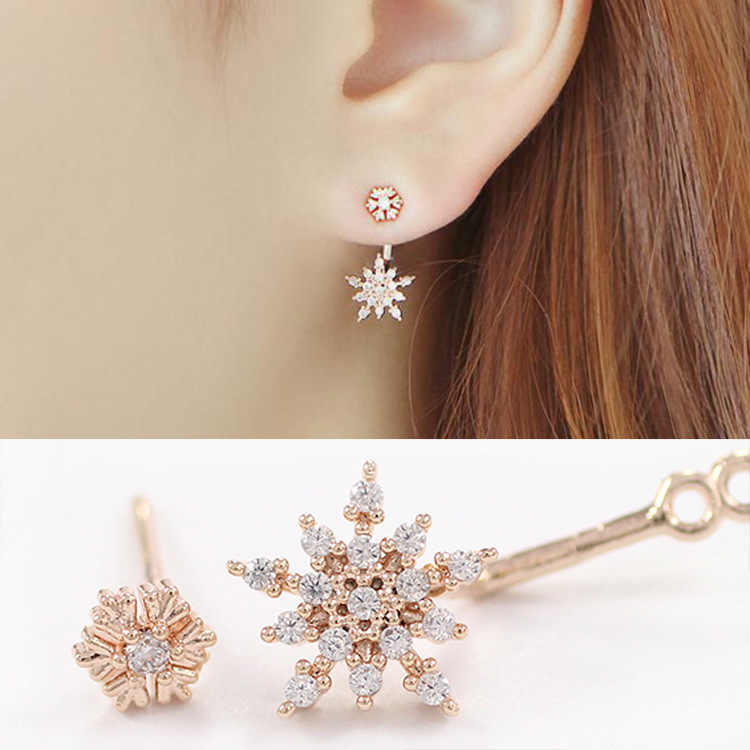 New Hot 1 PCS  Star Crystal Rhinestone Dangle Earring Drop Earrings Earrings For Women Accessories