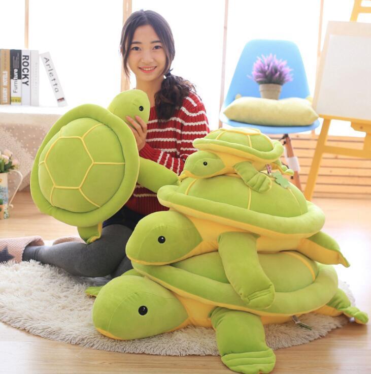 Новое поступление милые черепаха хлопок игрушки Животные Фаршированные Плюшевые игрушки как красивый подарок для ребенка
