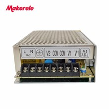 Customized high quality dual Output Switching power supply 120W 5V 12A 12V 5A ac to dc power supply ac dc converter D-120A pwm led ac dc 60w 12v 5a stable high efficient power converter silver