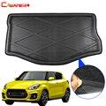 Cawanerl автомобильный коврик для багажника  поднос для напольных ботинок  поднос для багажа  коврик для багажа  аксессуары для Suzuki Swift 2010-2018
