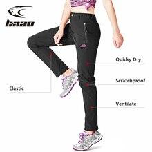 LXIAO damskie spodnie do wędrówek pieszych letnie szybkie suche Camping wspinaczka Trekking spodnie damskie goro tex Outdoor Sport górskie spodnie damskie