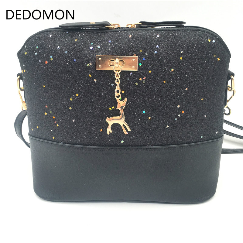 Luxury Handbags Women Bags Leather Designer 2019 Women Crossbody Shoulder Messenger Bags Shell Shape Lady Mini Bag With Deer Toy