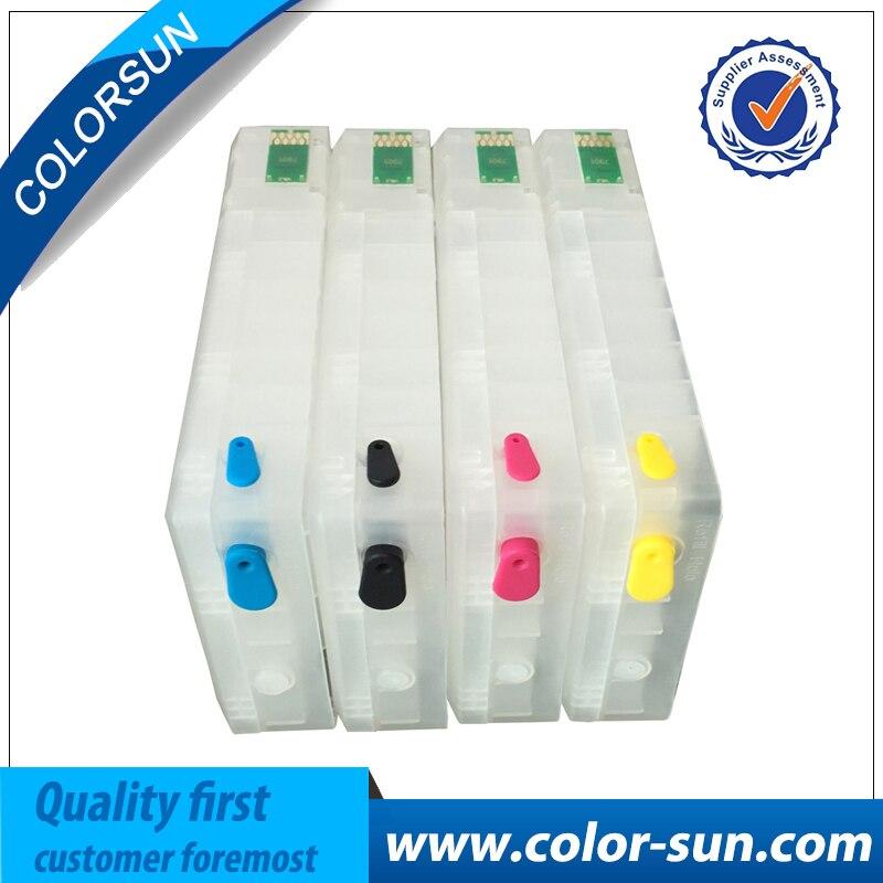 4PCS Refillable Ink Cartridge for EPSON Pro WF 5110 5190