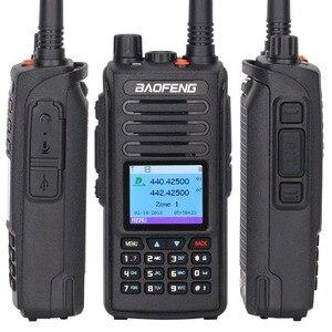 Image 4 - 2020 Baofeng DM 1702 نظام تحديد المواقع DMR الرقمية التناظرية واكي تاكي محمول Tier1 و Tier2 مكرر ثنائي النطاق VHF/UHF هام راديو اتجاهين