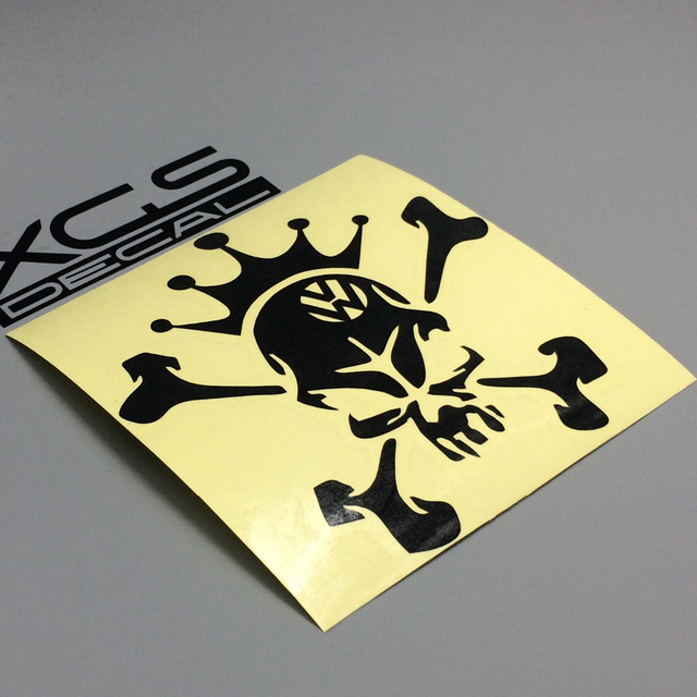 XGS DECAL Car Decals Hellaflush Cool Skull King Cm X Cm Vinyl - Vinyl stickers for motorcyclesaliexpresscombuy hellaflush car stickers vinyl waterproof