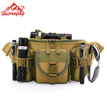 Military Tactical Running Men Waist Bag Oxford Waterproof Chest Outdoor Cycling Hiking Sports Bags