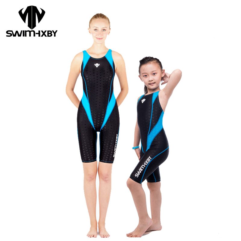 HXBY Racing Swimwear Women One Piece Swimsuit For Girls Competitive Swimming Suit For Women Bathing Suits