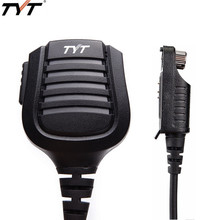 Tyt MD 2017 Ptt Impermeabile Spalla Speaker Mic per Tyt Th MD 2017 MD 398 Radioddity GD 55 Dmr Digitale Walkie Talkie