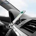 2016 new car air vent holder teléfono/imán 360 grados auto magnética universal soporte para teléfono móvil para iphone samsung huawei