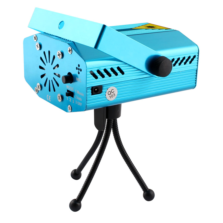 Image 4 - Mini LED Laser Projector Christmas Decorations Disco Light stage lighting effect Dj Voice activated Xmas Party Club wedding-in Stage Lighting Effect from Lights & Lighting