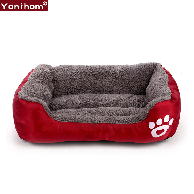 Dog Beds Sofa Warming Pet Bed Soft Fleece Warm For Large Dogs Waterproof