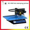 DC-P60 impresora lámina digital de superficie plana, máquina de estampación en caliente digitales, digital impresora lámina de oro, plateless máquina de impresión