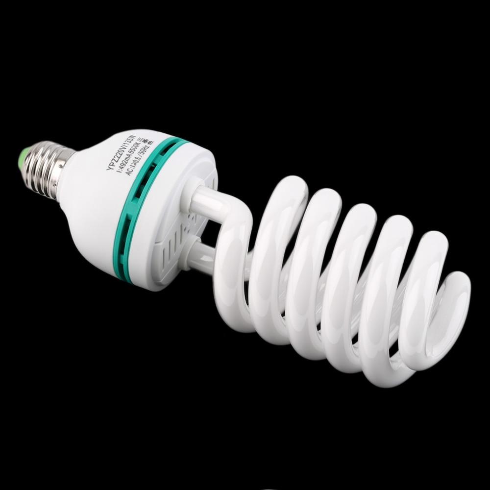 new Photographic Lighting E27 220V 5500K 135W Photo Studio Bulb Video Light Photography Daylight Lamp for digital camera
