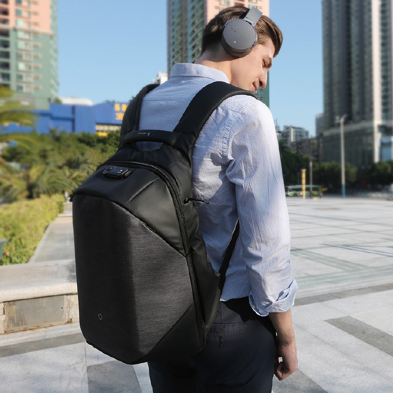 Сумка Kingsons для ноутбука 15,6 дюйма, рюкзак для ноутбука с защитой от кражи и царапин, деловой обучающий дорожный рюкзак