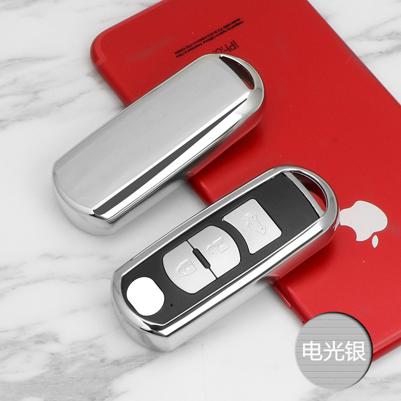 Soft TPU Car key fob cover case protect for Mazda 2 mazda 3 mazda 5 mazda 6 CX-3 CX-4 CX-5 CX-7 CX-9 Atenza Axela MX5 Car stylin цены онлайн