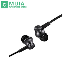 2017 Newes Original Xiaomi Mi Earphone Piston Fresh Version In-Ear 3.5mm AUX with Mic Wire Control for Mobile Phone(China)