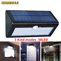 38LEDs Waterproof Solar Powered Outdoor Motion Sensor Detector Wall Light Path Garage Patio Lighting Security Night Lights Lamp