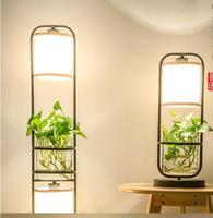 Китайский торшер. Творческий и вертикальные настольная лампа. Гладить Art изучать спальня торшер