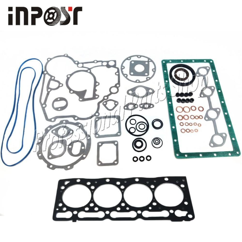 Pour Kubota V1505 KX71H jeu de joints de révision de KX91-2 15439-03311 joint de culasse en acier fabriqué