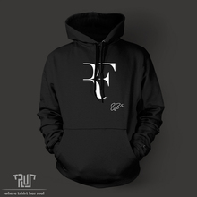 Roger Federer signature RF logo perfect men unisex pullover hoodie Sweatshirt 10.3oz weight fleece organic cotton Free Shipping