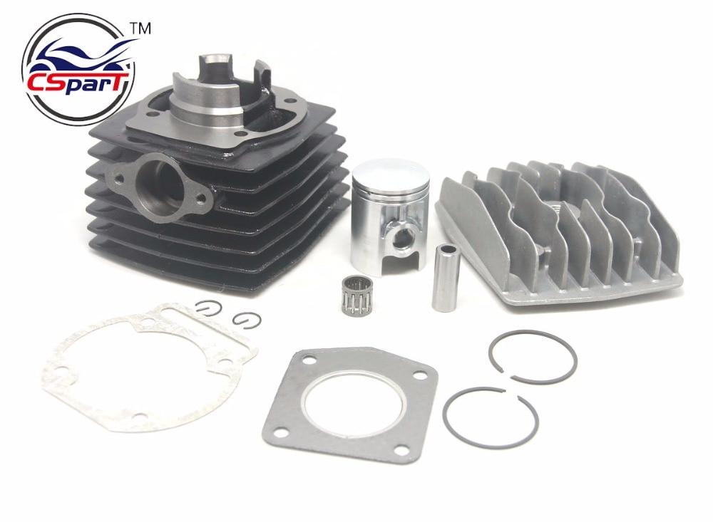 39MM 12MM Cylinder Head Piston Ring Bearing Gasket Kit Morini 50 50CC Mini Moto Dirt bike Cross