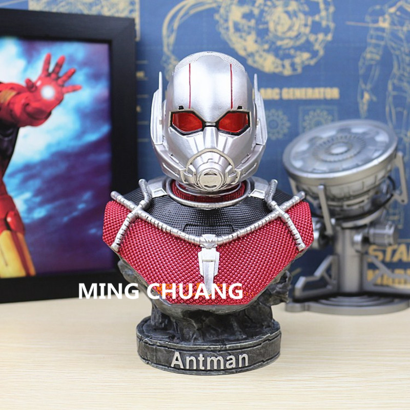Statue Avengers Ant-Man Superhero Scott Lang 1:4 Bust Wasp Hank Pym Resin Action Figure Collectible Model Toy W34Statue Avengers Ant-Man Superhero Scott Lang 1:4 Bust Wasp Hank Pym Resin Action Figure Collectible Model Toy W34
