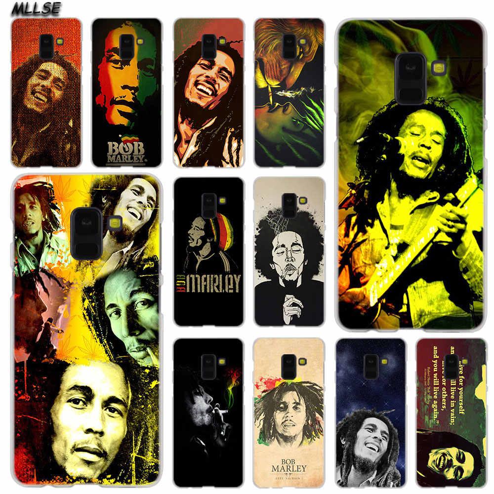 MLLSE Reggae Bob Marley กรณีแฟชั่นสำหรับ Samsung Galaxy A6 A8 Plus A9 A7 2018 A5 2016 2017 A6S a9Star Note9 8 5 4