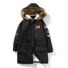 New Winter Thick Warm Cotton Male Slim fit Jacket Men Parka Hood Hooded Casual Wadded Outerwear