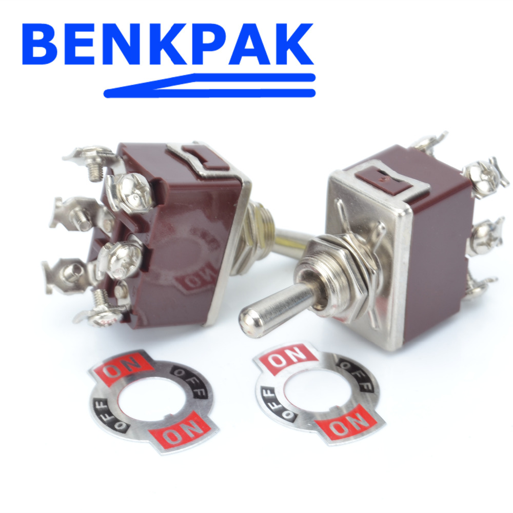 Momentary Toggle Switch,6 Screws 12mm on Beautiful Benkpak 15a -off- on