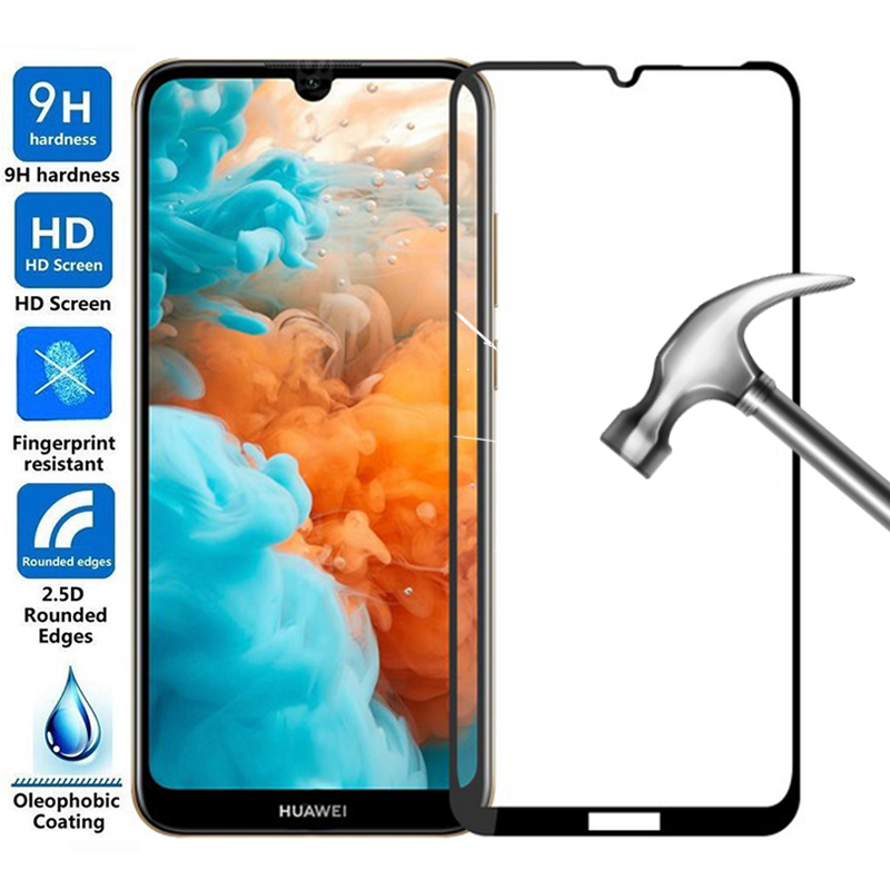 Full Protective Glass On Honor Play 8A Screen Protector For Huawei Honor 8A Pro 8C 8S 8X 8 Lite A8 C8 S8 X8 Tempered Glass Films